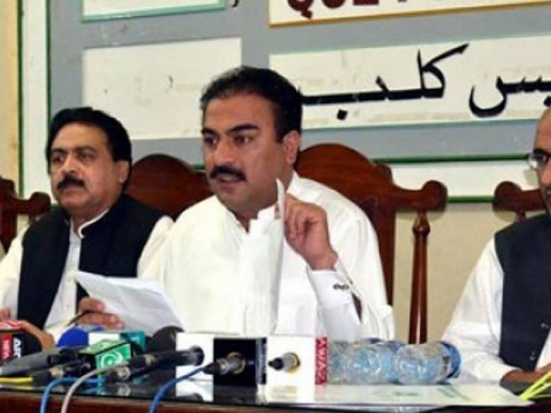 Convoy of Balochistan health minister attacked in Panjgur