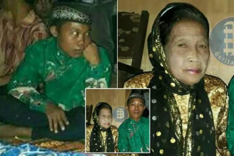 Love is blind: teen boy marries 71-year-old sweetheart