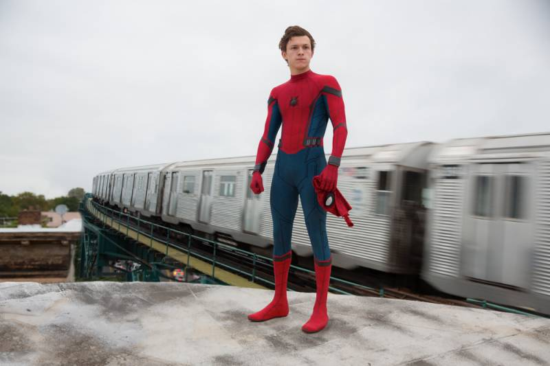 Teenage Spider-Man swings into Marvel's 'Homecoming'