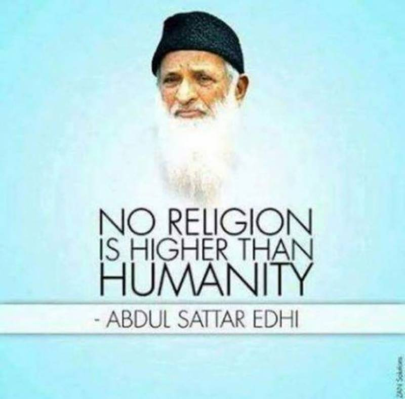 Edhi's first death anniversary being observed today