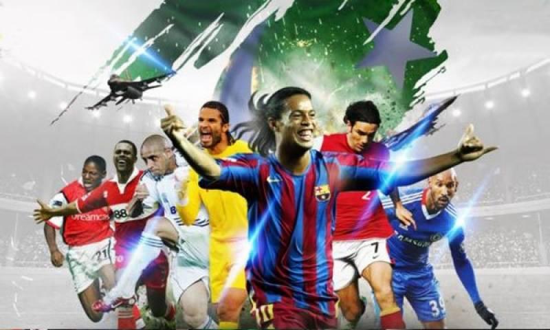 International soccer stars depart from Pakistan