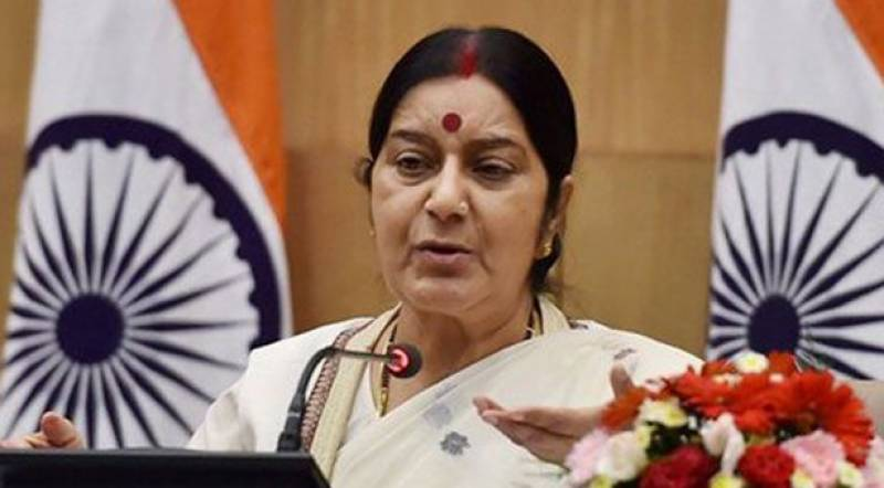 Visas to Pakistani patients to be issued on Aziz's recommendation: Sushma Swaraj