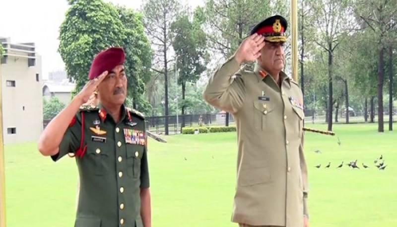 Malaysian army chief meets COAS Bajwa