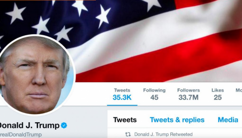 American free-speech group take legal notice against Trump for blocking Twitter users