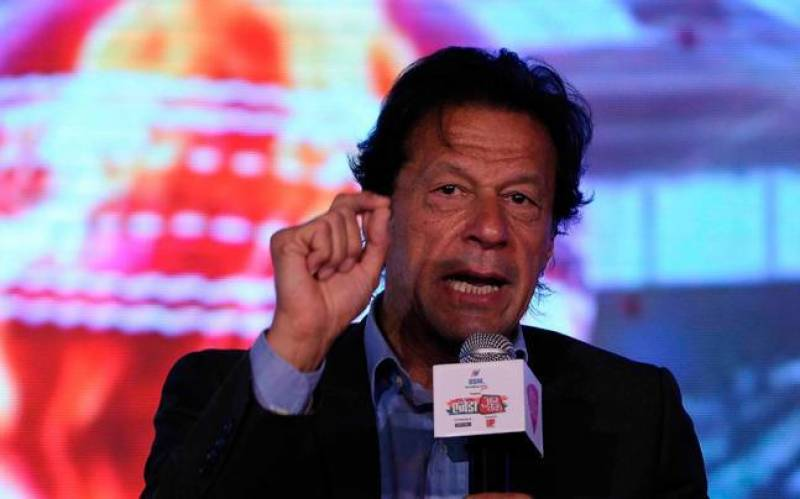 Neither Modi nor Trump can save PM Nawaz from accountability: Imran Khan