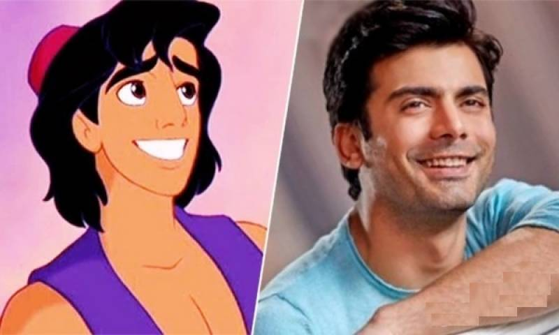 Do you want to see Fawad Khan as Aladdin!
