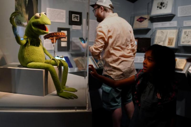 New York: exhibit celebrates life of Muppets creator Jim Henson