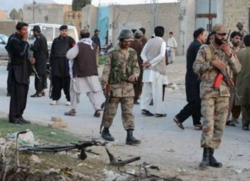 Three security personnel martyred in Balochistan, Khyber Agency