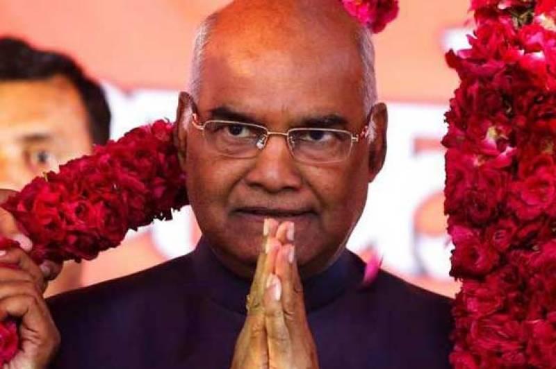 India's poorest community leader Ram Nath Kovind sworn in as new president