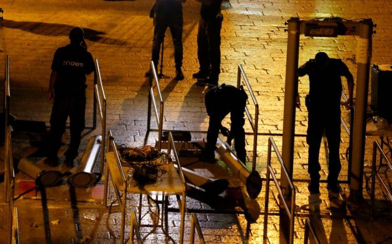Israel to replace metal detectors in Jerusalem with smart surveillance