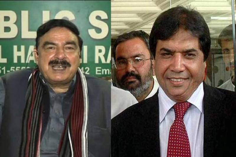 Hanif Abbasi files Rs 10B defamation suit against Sheikh Rasheed