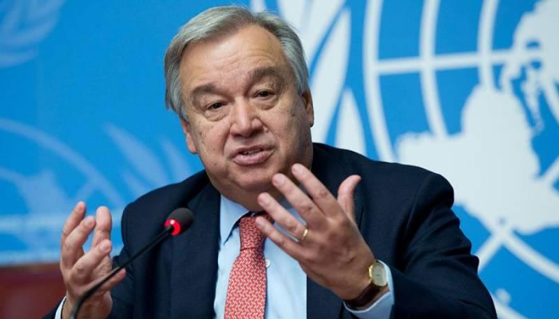 UNSG Guterres concerned about risk of escalating violence in Jerusalem