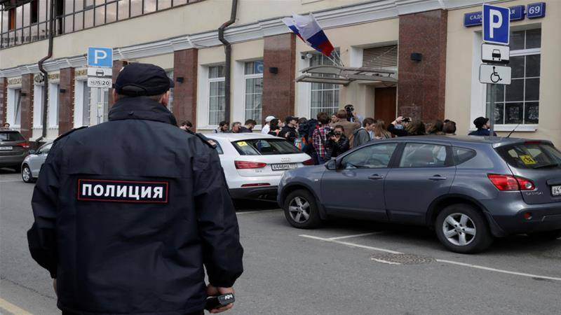 Shooting at Moscow court leaves three dead