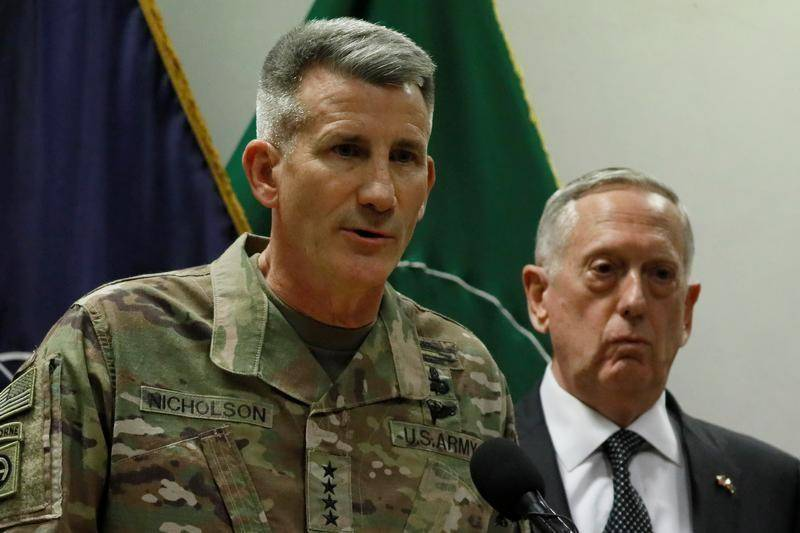 Trump suggests dismissal of U.S. commander amid intense Afghan wars
