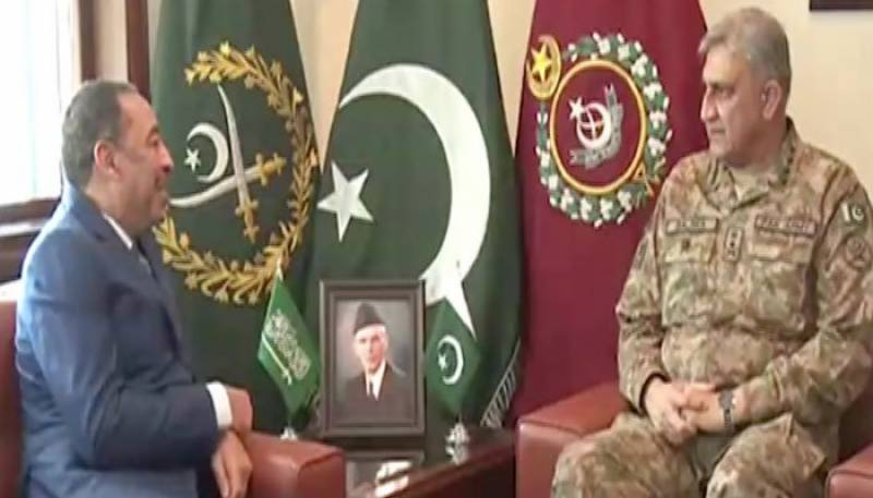 Army chief meets Saudi Vice Defence Minister