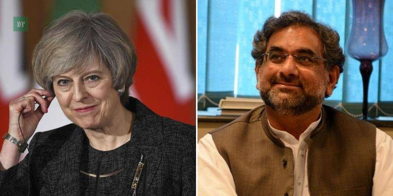 UK looks forward to working with PM Abbasi: Theresa May