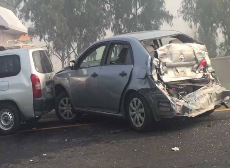 Collision among vehicles en-route to welcome disqualified PM leaves many injured
