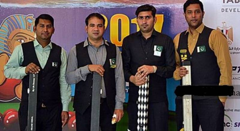 Pakistan wins World Team Snooker Championship in Egypt
