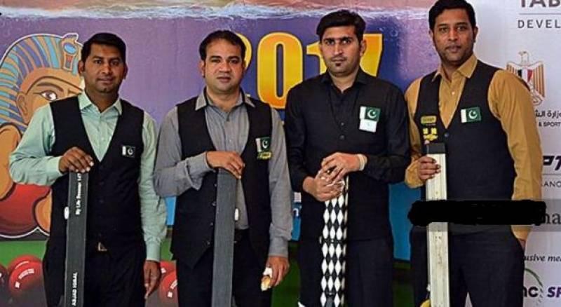 Pakistan wins World Team Snooker Championship in Egypt