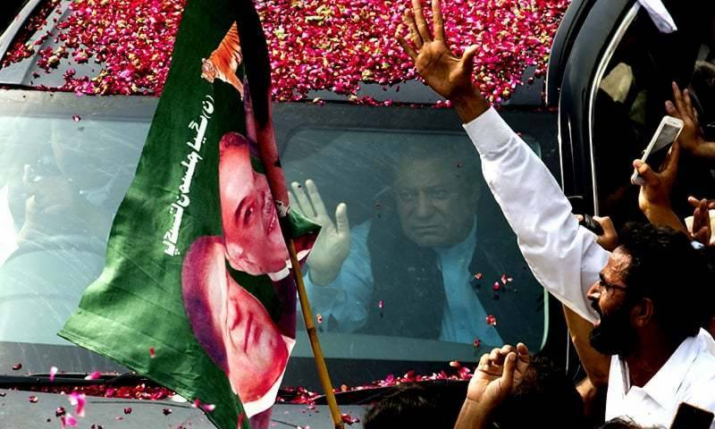 Last day of PM's GT Road power show, resumes journey from Gujranwala to Lahore