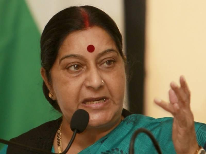 India to issue pending medical visas to Pakistani nationals: Sushma Swaraj