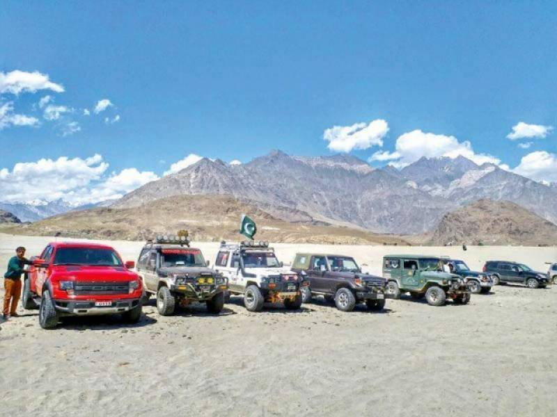 Cold desert jeep rally's final round underway, prize distribution ceremony to held today