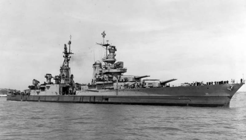 U.S. warship 'Indianapolis' found 18,000 feet deep in Pacific Ocean