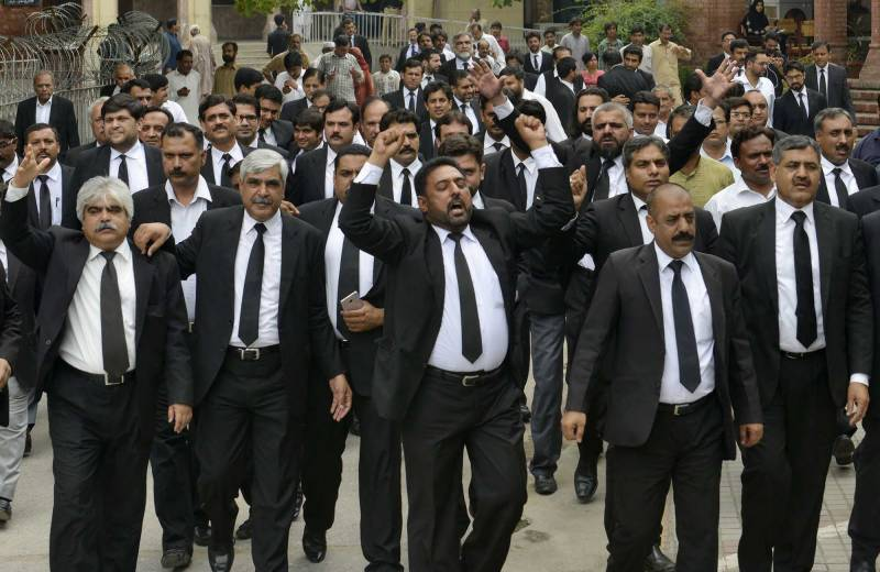 Lawyers observe strike across the country