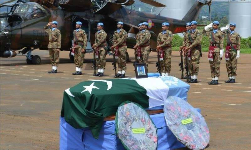 UN chief grieves martyrdom of Pakistani soldiers deployed in Congo