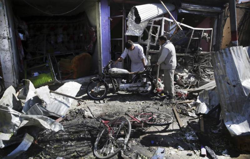 Afghan suicide attack kills five people, dozens wounded