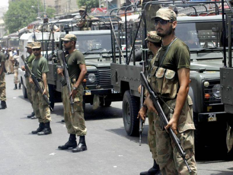ECP orders to deploy army troops in NA-120
