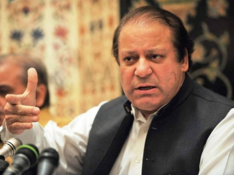 Nawaz Sharif chairs high-level session on NA-120