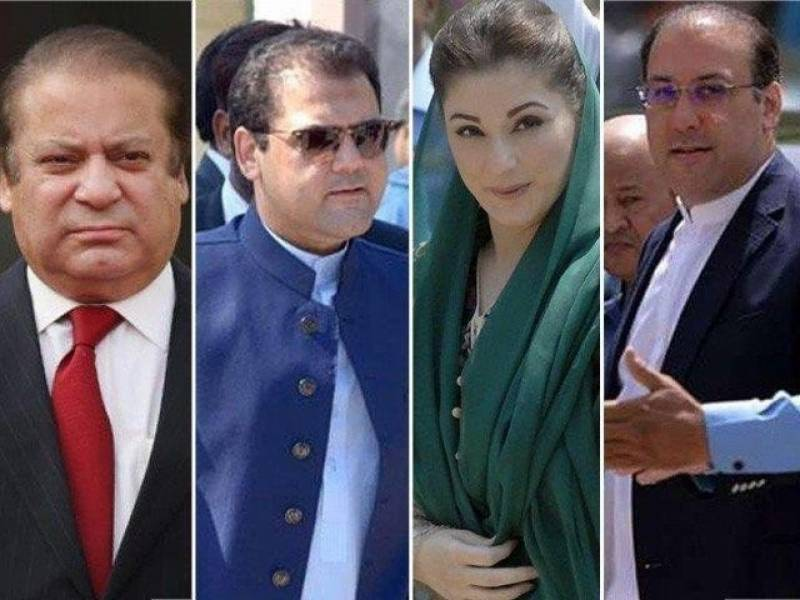 Former PM Nawaz's children, son-in-law file petitions against Panama verdict