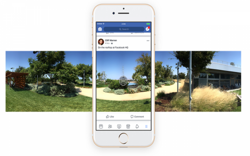 Upload 360 Degree Image as a Cover Picture on Facebook