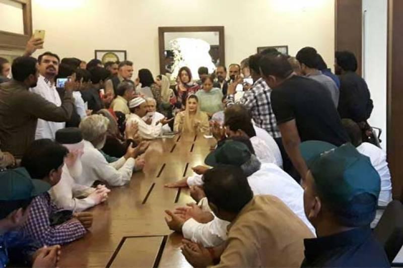 Maryam Nawaz launches NA-120 election campaign