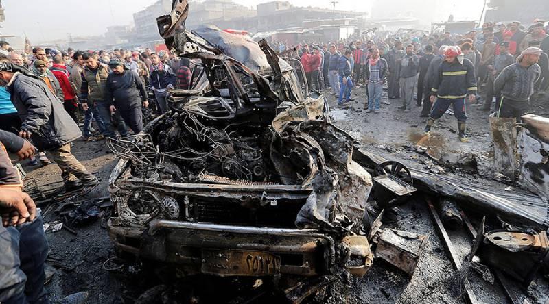 8 killed, over dozens injured in Baghdad bombing