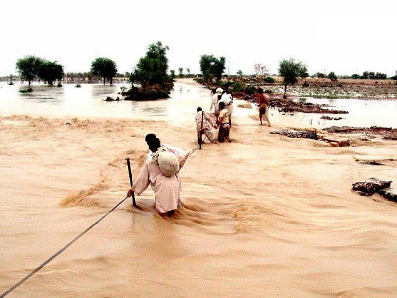 Flash-flood warning issued for lower, urban parts of Sindh