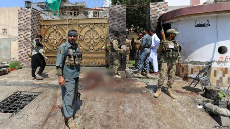 2 killed in suicide attack near Afghan parliamentarian's house