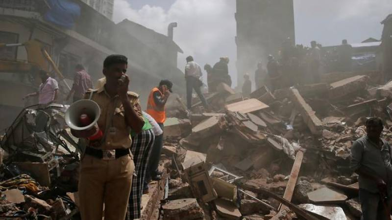 Building collapses in Mumbai leaves at least 10 dead, dozens feared trapped