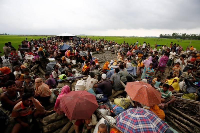 Over 90,000 Rohingya Muslims escape Myanmar violence as humanitarian crisis looms