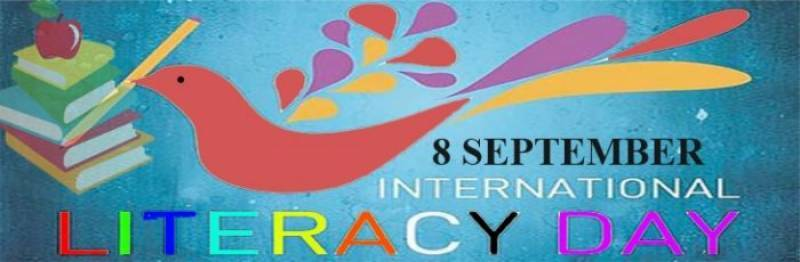 International Literacy Day being observed on Friday
