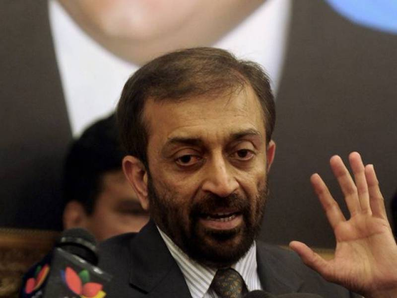 Farooq Sattar blames Karachi mayor for poor performance
