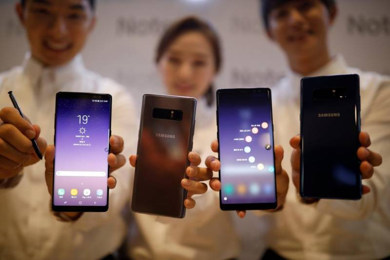 Galaxy Note 8 pre-orders highest among Note series: Samsung