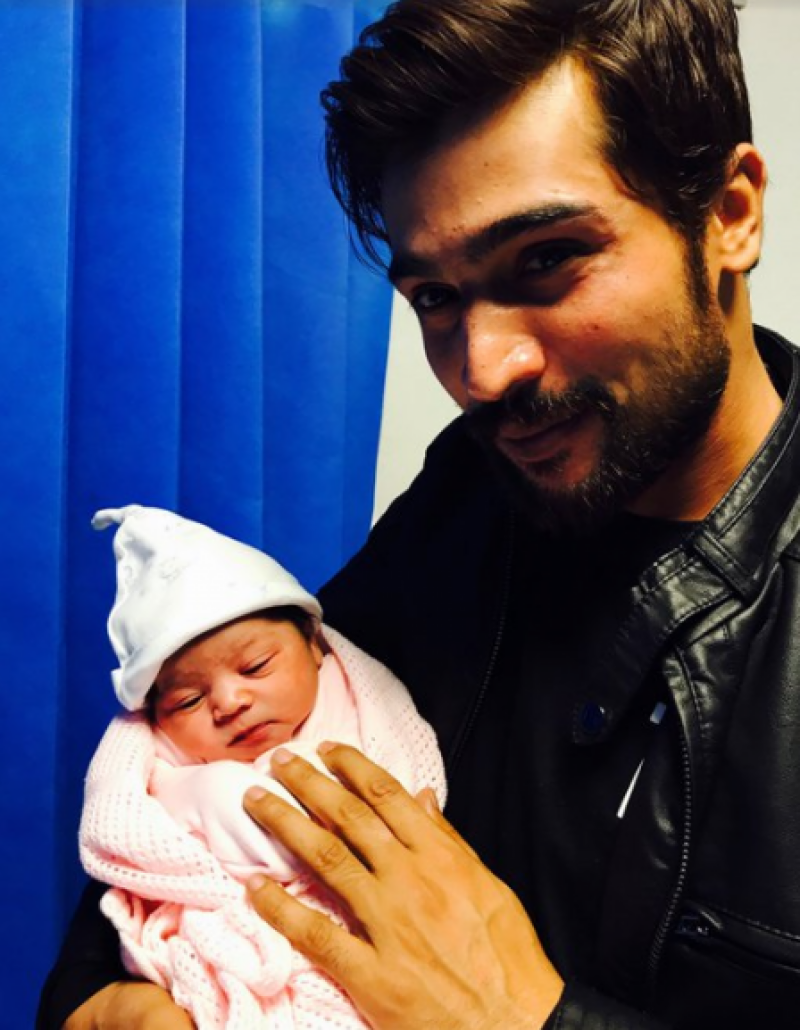 Mohammad Amir blessed with cute baby girl
