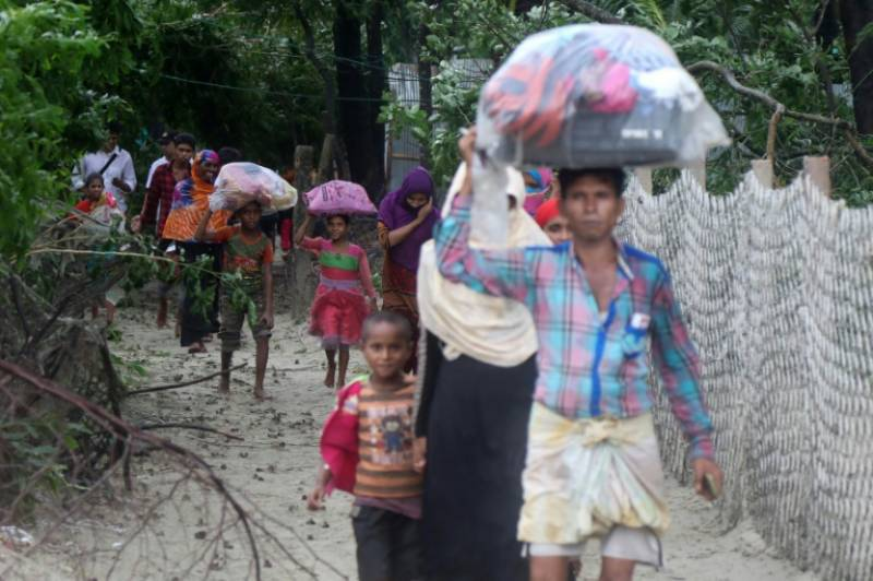 UN urges Myanmar to end military campaign again Rohingya Muslims