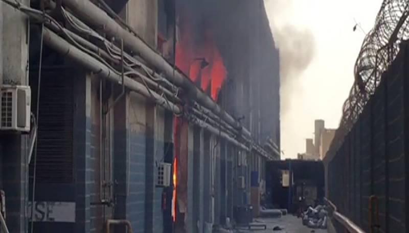 Karachi: Blast hits cosmetics factory at Shahrah e Faisal