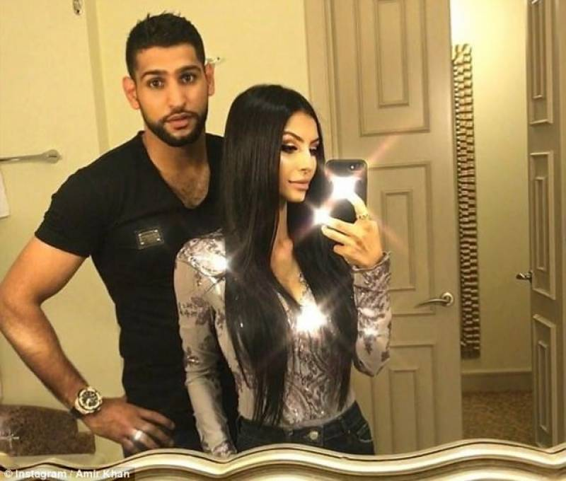 Amir Khan says they are 'going ahead with thedivorce'