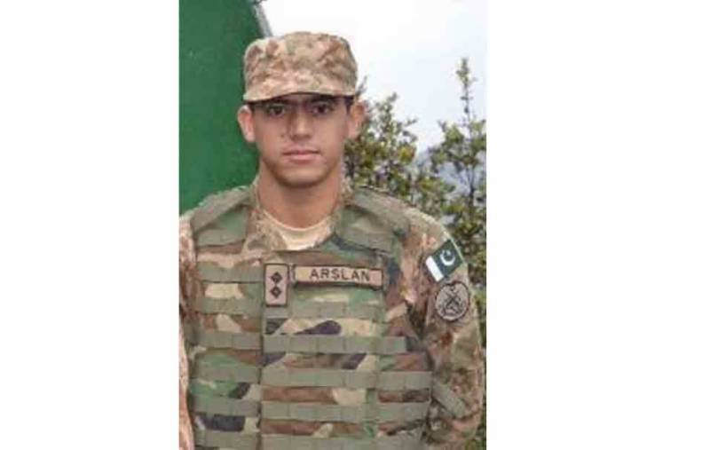 Cross border firing in Khyber Agency, Lieutenant Arslan martyred