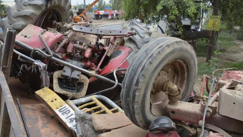 Four including a one-year-old infant lost their lives in road mishap