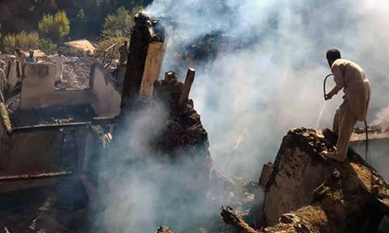 Six siblings burnt to death in Upper Dir